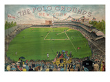 New York Polo Grounds Prints by  New York Lithograph Co