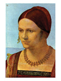 Portrait of a Young Woman [1] Posters by Albrecht Dürer