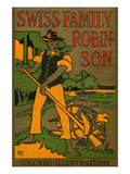 Swiss Family Robinson Prints by  HBM