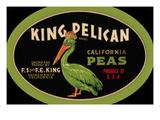King Pelican California Peas Print
