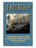 Leadership Posters by Wilbur Pierce