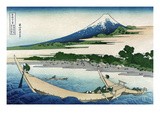 Shore of Tago Bay, Ejiri at Tokaido Print by Katsushika Hokusai