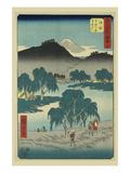 Goyu Prints by Ando Hiroshige