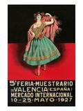 5th Book Fair - Valencia Spain Plakater af Sara Pierce