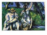 Figures Print by Paul Cézanne