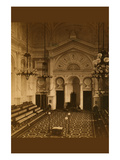 Masonic Hall - Philadelphia - Interior Prints by Frederick Gutenkunst