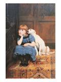 Sympathy Prints by Briton Rivière