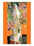 Die Tänzerin Kunstdrucke von Gustav Klimt