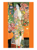 The Dancer Print by Gustav Klimt
