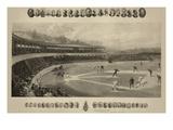 Baseball Match Prints by Valadon & Co, Boussod