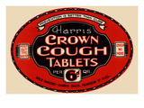 Harris' Crown Cough Tablets Posters