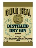 Gold Seal Distiller Dry Gin Prints