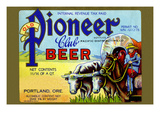 Old Pioneer Club Beer Posters