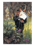 The Widower Print by James Tissot