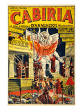 Cabiria Posters by N. Morgello