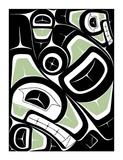 Whale Giclee Print by Derek Thomas