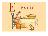 E Eat It Posters by Kate Greenaway