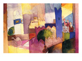 Kairouan Posters by August Macke