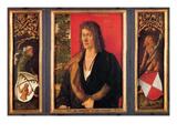 Portrait of Oswald Krell Poster by Albrecht Dürer