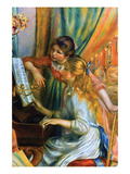 Girls at the Piano Prints by Pierre-August Renoir