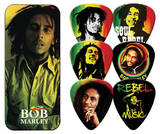 Bob Marley - Rasta Guitar Picks Médiators pour guitare