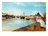 Port at Loby Poster by Berthe Morisot