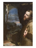 St. Francis Premium Giclee Print by Federico Barocci