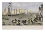 The New York Yacht Club Regatta Art