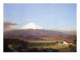 Cotopaxi, Ecuador [2] Kunstdrucke von Frederic Edwin Church