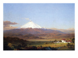 Cotopaxi, Ecuador [2] Prints by Frederic Edwin Church
