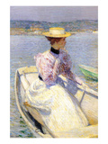 White Dory Posters by Childe Hassam