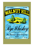 Walnut Hill Rye Whiskey Art