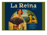 La Reina Print by  Western Lithograph Co