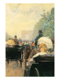 Carriage Parade Prints by Childe Hassam