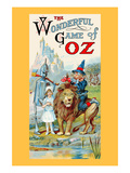 The Wonderful Game of Oz Premium Giclee Print by John R. Neill