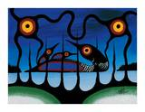 Tremolo Giclee Print by Frank Polson