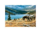 God's Country Kunstdrucke von Richard Freeman