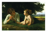 Temptation Prints by William Adolphe Bouguereau
