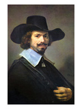 Portrait of the Painter Hendricks Martensz Sorgh Prints by  Rembrandt van Rijn
