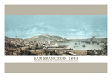 San Francisco in 1850 Posters by  Ibbotson