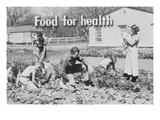Dorothea Lange - Homegrown Food Is Homegrown Wealth. Obrazy