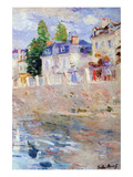 The Sky in Bougival Prints by Berthe Morisot