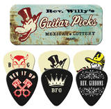 Rev. Willy - Mexican Lottery Guitar Picks Guitar Picks