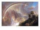 Rainy Season in the Tropics Posters by Frederic Edwin Church