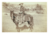 The Cow Boy Premium Giclee Print by John C.H. Grabill
