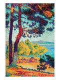 Afternoon at Pardigon Posters by Henri Edmond Cross