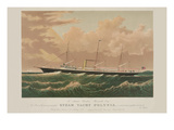 Steam Yacht Polynia Prints