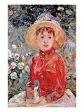 Young Girl Premium Giclee Print by Berthe Morisot