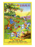 Foor Horseman Brand Poster