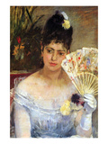 At the Ball Posters by Berthe Morisot